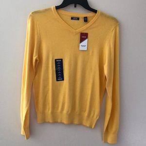 IZOD V-neck long sleeve Sweater Size S New